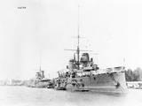 Battleships in Harbor
