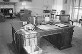 President Kennedy's Desk in the White House