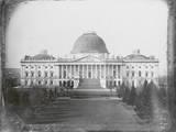 Exterior of Capitol Building in Washington