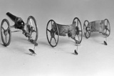 Flea Pulling Miniature Chariot