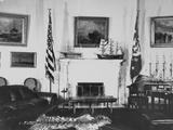 President's Study in Oval Room