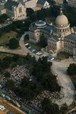 Aerial View of Freedom Marchers