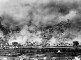 Allied Bombing on German Controled Town
