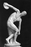 Roman Sculpture of the Discus Thrower
