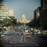 View of Capitol Building on Pennsylvania Avenue