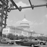 Exterior View of US Capitol Building