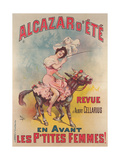 Alcazar D'Ete Poster