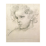 Study of a Young Boy's Head