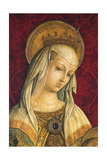 Madonna's Face  Detail from Central Panel of Triptych of Camerino