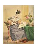 Les Heures Du Jour  Quatre Heures Du Soir  Circa 1830