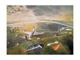 RAF Planes on an Airfield