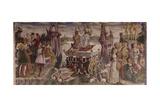 Triumph of Venus  Month of April  Circa 1470