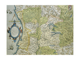 Map of the Duchy of Milan  Italy  from Theatrum Orbis Terrarum  1528-1598  1570