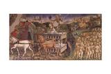 Triumph of Apollo  Month of May  Circa 1470