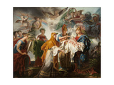 Allegory of the Birth of the King of Rome  Renamed after 1814 Allegory of the Birth of Louis XIV