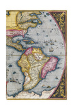 Map of South America  from Theatrum Orbis Terrarum  1570