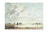 Low Tide at Etaples  1886