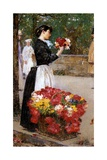 The Flower Girl  1888