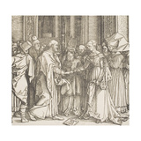 """The Betrothal of the Virgin  from the Series """"The Life of the Virgin""""  C1504"""