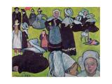 Bretons in a Field Or  the Pardon  1888