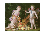 An Allegory of Peace and Plenty  1629