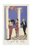 Falbalas Et Fanfreluches  Almanac for 1923  Le Gout Des Chales