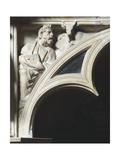 Crest of Arc Depicting Evangelist Luke  Detail from Pergamon or Pulpit