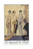 Falbalas Et Fanfreluches  Almanac for 1924 The Judgment of Paris