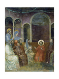 Jesus in Temple Among Doctors  Detail from Life and Passion of Christ