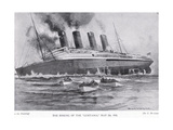 The Sinking of the Lusitania  May 7  1915