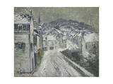 Snow in Pont-Aven; Neige a Pont-Aven  1922
