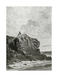 The Rock of the Exiled in Jersey  19th Century