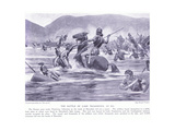 The Battle of Lake Trasimenus 21 BC