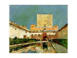 The Alhambra  Granada  Spain  C1883