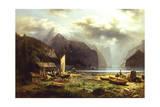 A Fisherman's Village  1862