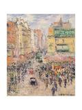 La Rue De Clignancourt  1925