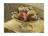 A Bowl of Peaches; Le Compotier De Peches  C1889