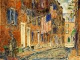 Acorn Street  Boston  1919