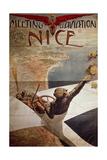 France  Nice  Meeting D'Aviation  April 10-25  1910