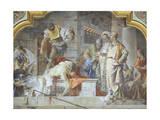 Italy  Bergamo  Colleoni Chapel  Beheading of John Baptist  1733