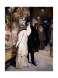 New Year's Nocturne  New York  1892