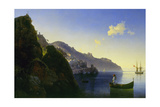 The Coast of Amalfi  1841