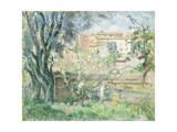 The Artist's Garden at Cannet  1931