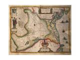 Map of Paduan Domain from Theatrum Civitatum Et Admirandorum Italiae