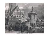 Preaching at St Paul's Cross