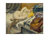 Reclining Nude; Nu Couche