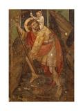 St Christopher  Fresco