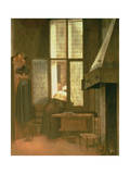 Woman at a Window  1654