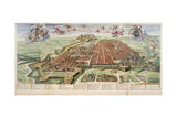 Map of Turin  1682