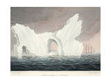 A Remarkable Iceberg  July 1818  Illustration from 'A Voyage of Discovery'  1819